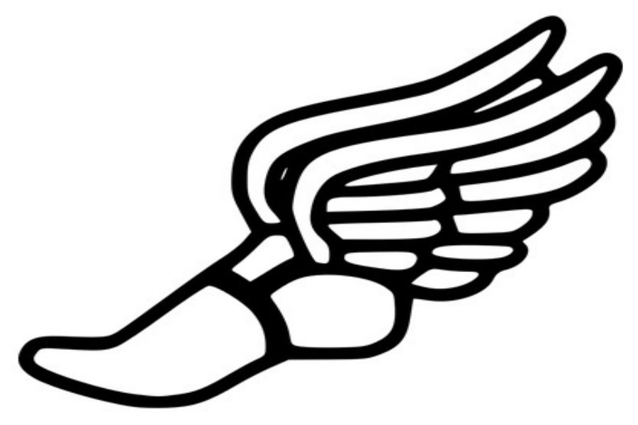 track and field shoe logo www pixshark com images shoe with wings logo on cavs jersey shoe with wings logo answer