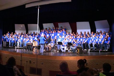 Choirs conclude year with charismatic passion