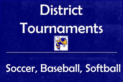 Three teams compete in district championship games