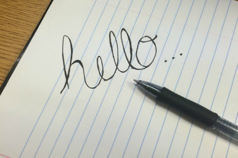 Cursive writing is losing its appeal