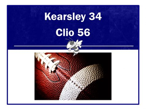Football team loses to Clio