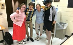 Choir students participate in grandparents' day