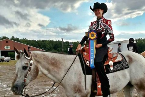 Sophomore wins shows with a horse named Steve