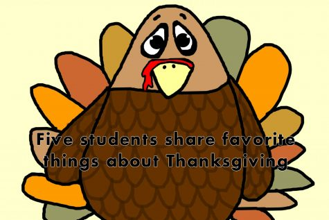 Five students share their favorite things about Thanksgiving