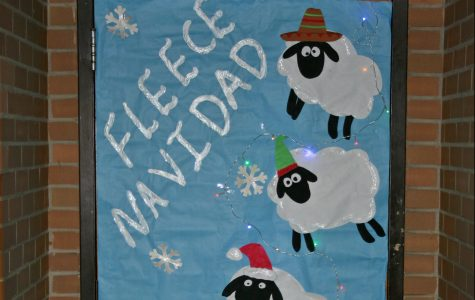 Pence offers holiday wishes with a sheep-ish pun