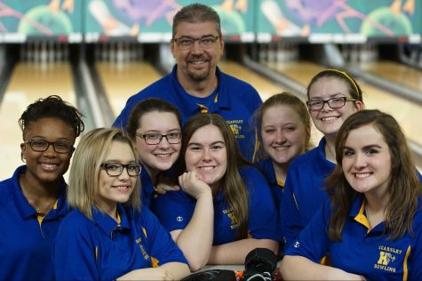 Girls bowling wins two matches led by Roof's 257