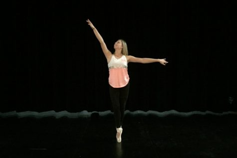Mallory Simms strives to be the best dancer she can be