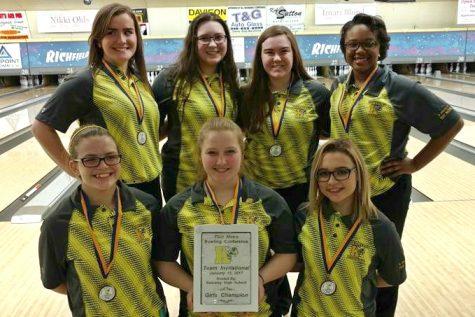 Girls bowling wins tournament, dual match