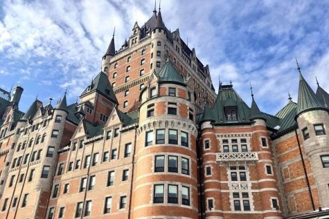 French students explore Quebec City, Montreal