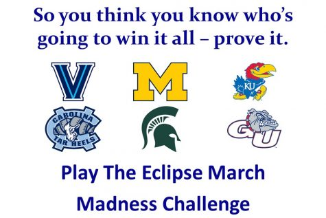 Compete for prizes in the second annual Eclipse March Madness Challenge