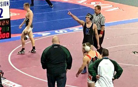 Tarrence, Harburn earn All-State wrestling honors