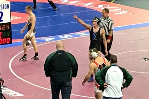 Tarrence, Harburn earn All-State wrestling honors