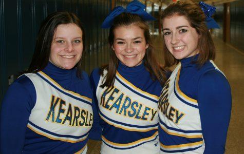 The cheerleaders need cheerleaders too