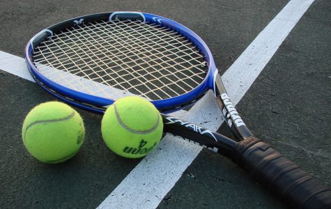Tennis drops league opener to Holly