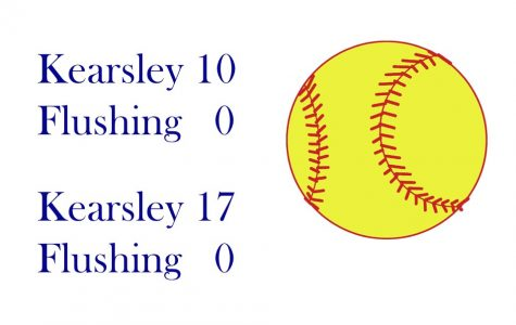 Softball sweeps Flushing in league action