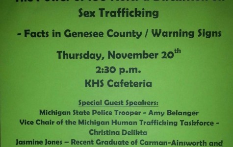 Sex trafficking topic to be discussed at Power of 100 meeting