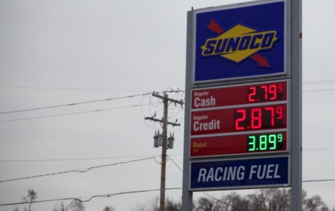 The price of gas is below $3.  This decrease was fueled by an increased oil supply.