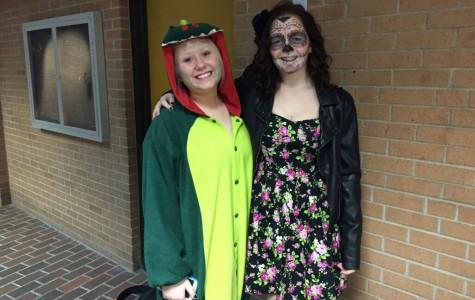 Juniors enjoy Halloween
