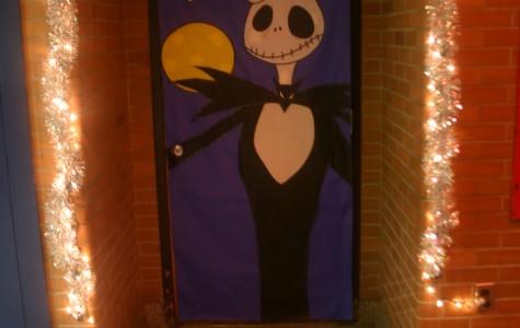 Mr. Zimmerman's door resembles a nightmare