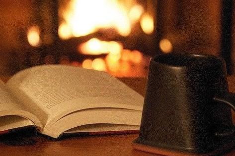 book and mug flickr