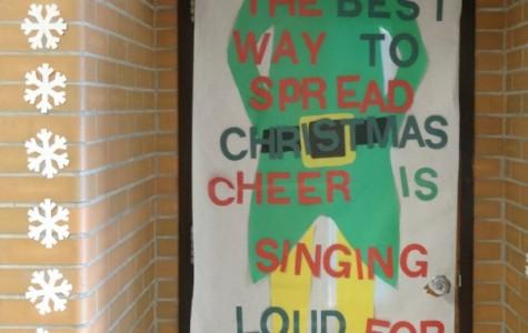 Mr. Rawls encourages loud singing