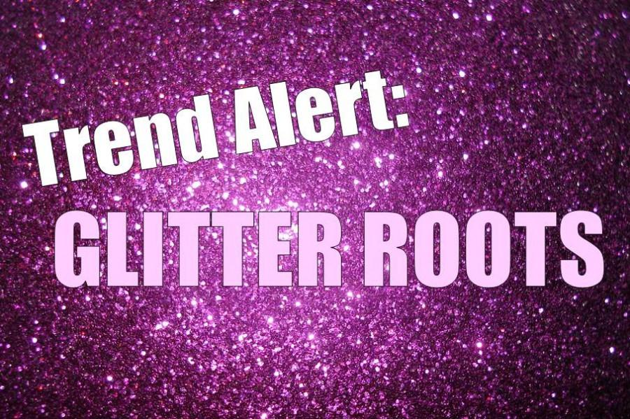 The latest trend to hit teenagers is glitter roots.