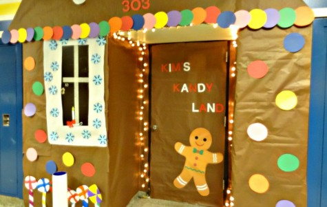 Mrs. Guest lives in a gingerbread house