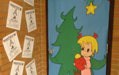 Mr. Torok demands a search for the Grinch on his door