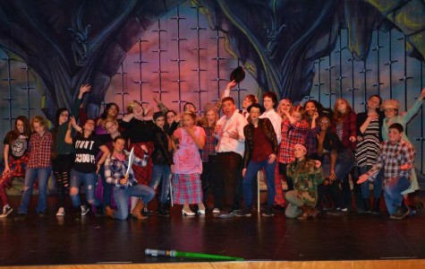 The final night of 'Mmmbeth' overcame technical problems