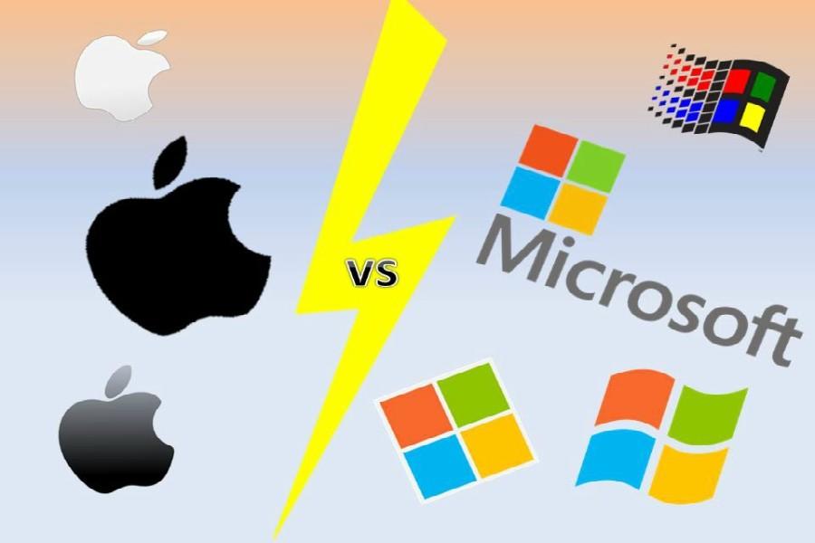 apple vs micrisoft