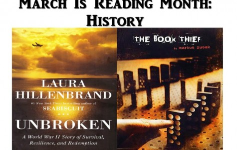 March is Reading Month: History is a favorite among students