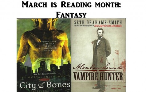 March is Reading Month: Fantasy hooks students