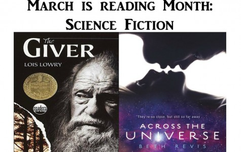 March is Reading Month: Science fiction takes you to different worlds