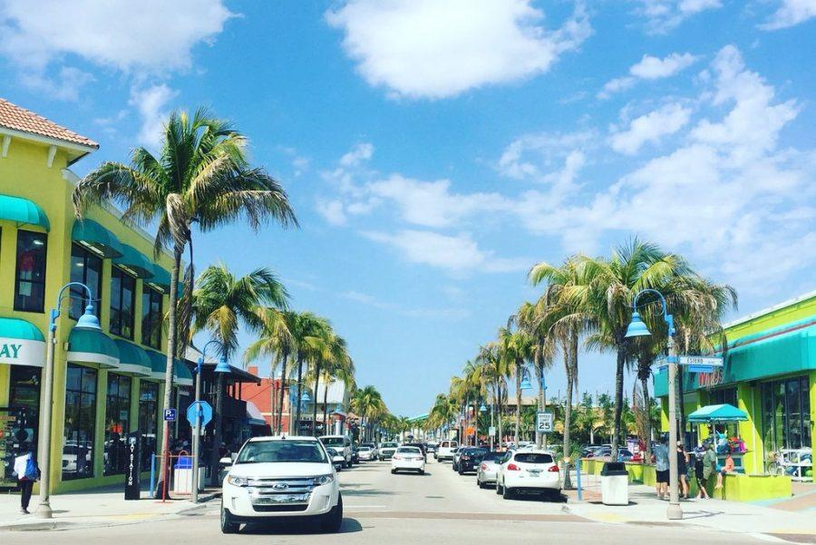 Downtown Fort Myers Beach Is Beautiful In The