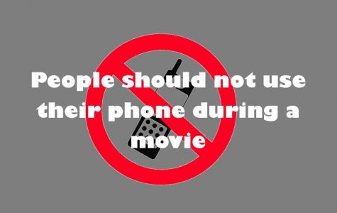 AMC Theater debates phone use during movies