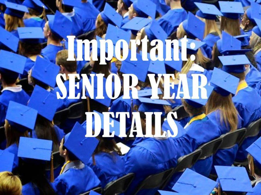 Senior year comes with several events.