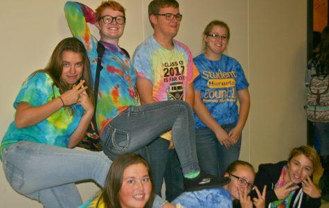 Band students love spirit week