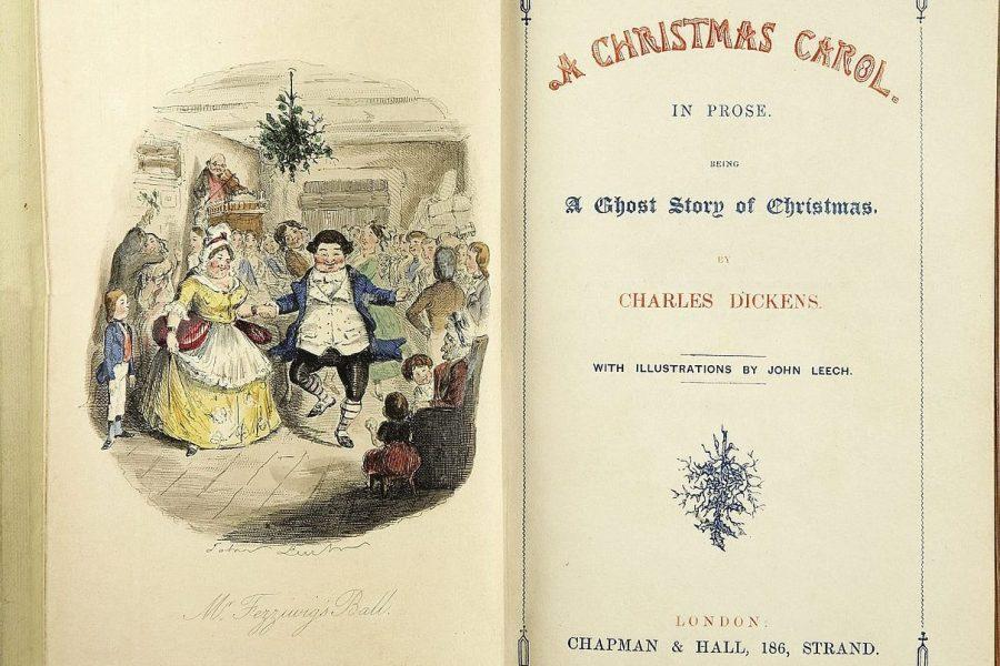 This first edition of Charles Dickens'