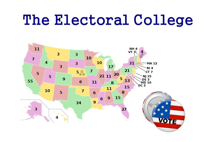 The 2016 Electoral College Map