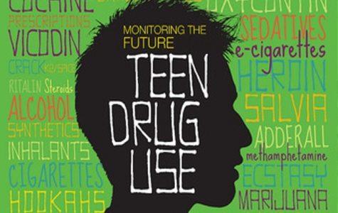 Teen drug usage has decreased nationally but increased at KHS