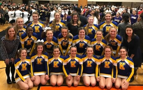 Cheer team advances to state final for the first time