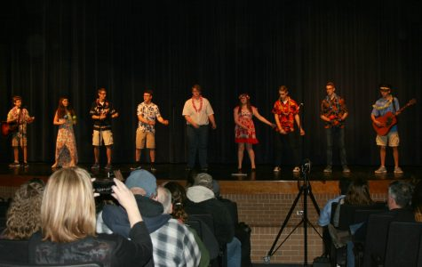Students enjoy performing in Spanish or French