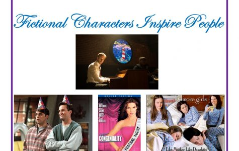 People draw inspiration from fictional characters