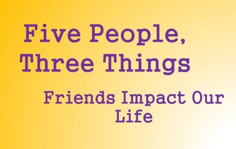 Five sophomores describe friends' impact on their lives