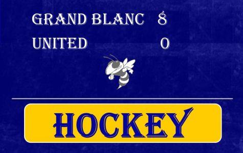 Hockey shut out by Grand Blanc