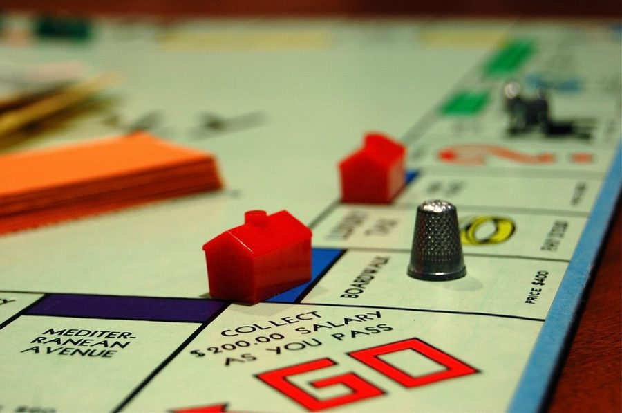The toy company Hasbro is removing the thimble from the popular family game Monopoly.