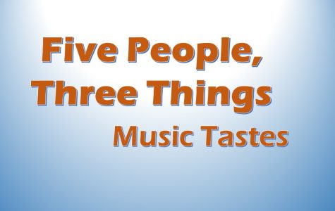 Five students express their tastes in music