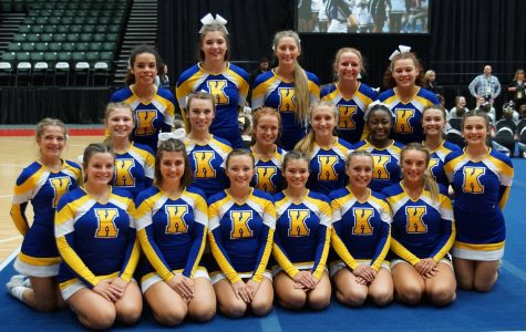 Cheer takes seventh place at state final