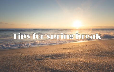 Spring breakers, follow these tips for a fun and safe trip
