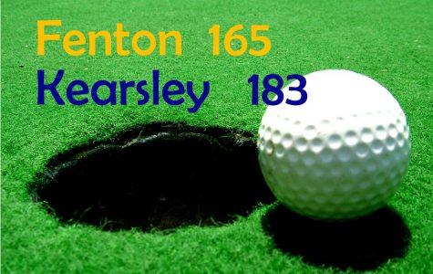 Fenton downs the golf team